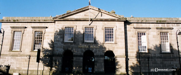 Bodmin Shire hall