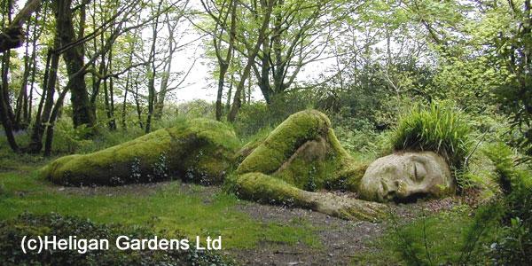 Heligan Gardens Mud Maid